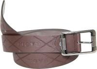 Baoli Men Formal, Semi-formal Brown Artificial Leather Belt Brown