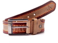 Junckers Men, Boys Casual, Party, Formal, Evening Brown Genuine Leather Belt Brown, Light Brown