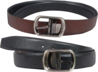 NAGAR ENTERPRISES Girls Casual Black, Brown Artificial Leather Belt Brown-BROWN-18