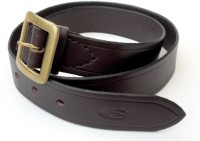 Sovam International Men Beige Genuine Leather Belt Beige-mb-09