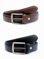 Tops Men, Women Formal Black, Brown Genuine Leather Belt (Black, Brown) - BELE4JCPPGEK6TU9