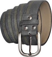 Stylox Men Casual Grey Synthetic Belt Grey
