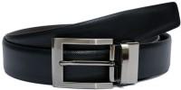 VIBA Boys Black Texas Leatherite Belt Black