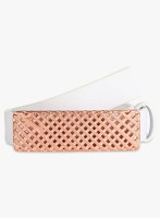 Puma Women Belt White And Red Copper