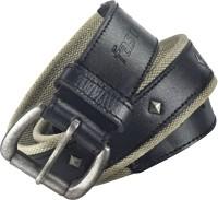 Fastrack Men Casual Black Genuine Leather Belt: Belt