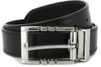 Hidesign Women Black, Brown Reversible Belt (Black & Brown)