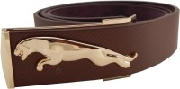ELS Men Casual Brown Synthetic Belt Brown-02