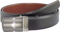 Elan Men Formal Black, Tan Genuine Leather Reversible Belt (Black, Tan)