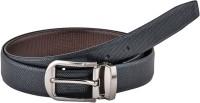 Pacific Gold Boys, Men Black Artificial Leather Belt Black, Brown