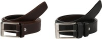 Stylla Men Casual Black, Brown Artificial Leather Belt Black, Brown