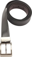 SKSS Club Men Formal Black, Brown Genuine Leather Reversible Belt (Black, Brown)