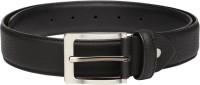 Mast & Harbour Men Black Genuine Leather Belt Black