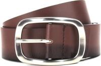 U.S. Polo Assn. Men Brown Genuine Leather Belt Brown - BELE88C8Z2XRSFGY