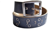 Cuero Men, Boys Casual, Formal, Party Black Genuine Leather Belt Black-200