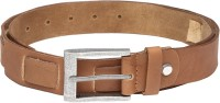 Peter England Men Casual Tan Synthetic Belt Tan