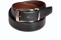 Swan Collection Boys, Men Formal, Casual, Evening Black, Brown Artificial Leather Reversible Belt Black3, Brown3 - BELE7TUHXTPVCGFJ