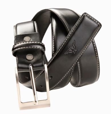Kamillo Men, Women Casual, Formal Black Genuine Leather Belt
