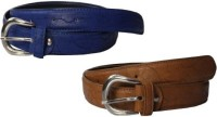 NAGAR ENTERPRISES Girls Casual, Evening, Formal, Party Blue, Brown Artificial Leather Belt BLUE-BROWN-10