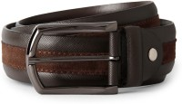 Van Heusen Men Brown Genuine Leather Belt Brown - BELEE975RSYZJGRJ