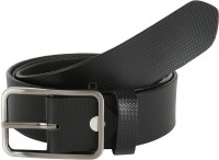 Global Leather Boys, Men, Girls, Women Formal, Casual, Party, Evening Black Genuine Leather Belt Black - BELEAJ4SZPWFKGVN