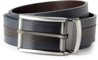 Van Heusen Men Blue Genuine Leather Belt Blue