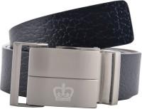 GLB Boys, Men Casual, Party, Formal, Evening Black Genuine Leather Belt Black