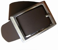 Winsome Deal Men Formal Brown Artificial Leather Belt (Brown)