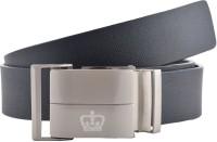 GLB Boys, Men Casual, Formal, Evening, Party Black Genuine Leather Belt Black