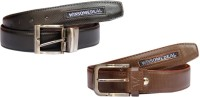 Winsome Deal Men Formal, Casual Black, Brown Artificial Leather Belt Black, Brown - BELE866WQJZWMHNV