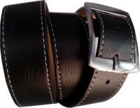 Winsome Men Formal Black Genuine Leather Belt BT-02 Black