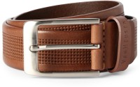 Van Heusen Men Brown Genuine Leather Belt Brown - BELEE964GWGWZWXZ