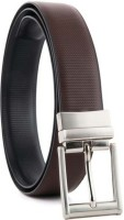 YOURS LUGGAGE Boys, Men Casual, Party, Formal, Evening Black, Brown Synthetic, Artificial Leather, Genuine Leather Reversible Belt BLACK, Brown