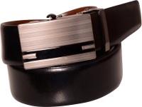 Cops Men Formal Black, Brown Genuine Leather Reversible Belt Black - BELDZZS4684GYYG5