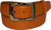 Hedgehog Men, Women Casual, Formal Brown Artificial Leather Belt Leather Brown