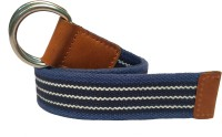 Skyforest Women, Men, Boys, Girls Casual Multicolor Canvas Belt Navy Blue-Royal Blue-White