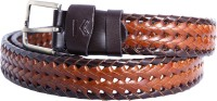 Karlsburg Men Casual, Formal Multicolor Genuine Leather Belt Brown-Light Brown