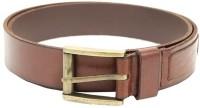 Lino Perros Men Casual Brown Genuine Leather Belt Brown
