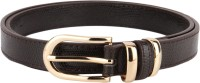 Lino Perros Women Casual Brown Artificial Leather Belt B004
