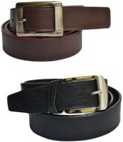 Jars Collections Men Multicolor Genuine Leather Belt Multicolor