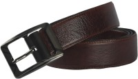 Live Leathers Men Casual Brown Genuine Leather Belt Brown