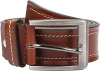 Magson Men Brown Genuine Leather Belt Brown950