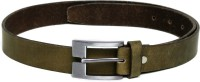 Van Heusen Men Formal Green Genuine Leather Belt Green