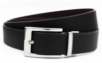 Magiq Men Casual, Formal Black Genuine Leather Reversible Belt Black, Brown