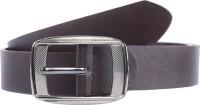 Elligator Men Brown Artificial Leather Belt BRN-1