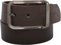 DANMANEAO Men Casual, Formal Brown Artificial Leather Belt Brown