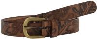 Aditi Wasan Women Casual Brown Genuine Leather Belt (Brown)