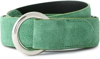 Van Heusen Men Green Genuine Leather Belt Green