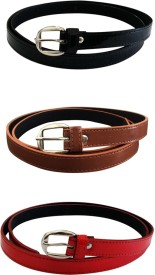 Verceys Girls, Women Casual Multicolor Artificial Leather Belt