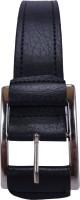 Revo Men Casual Black Synthetic Belt Black-01