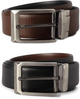 Van Heusen Men Brown Genuine Leather Belt Brown - BELED55KZ6HWZRFM